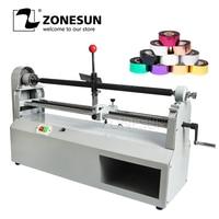 ZONESUN 0 700MM Width Electric Foil Paper Cutting Device 90W Heat Transfer Stamping Foil Cut Machine