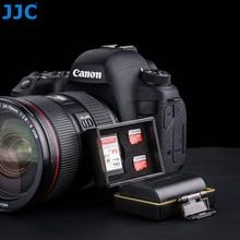 JJC Camera Battery Case Water-resistant SD TF Card Storage Box for Canon LP-E6, LP-E6N,LP-E17/Fujifilm NP-W12/Sony NP-FW50