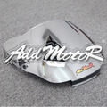 Motocicleta de pára-brisas pára-brisas prata duplo bolha para Honda CBR600F2 1991 1992 1993 1994 CBR 600RR F2 91 92 93 94
