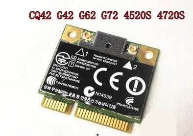 SSEA Nouvelle Carte Sans Fil pour Realtek RTL8191SE 300 Mbps 802.11b/g/n pour HP CQ56 G62 CQ62 G72 CQ72 G56 593533-001 Livraison gratuite