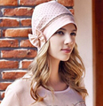 headwrap bonnet cap Headwrap hat with bow under hijab hijab Cap Chemo free ship