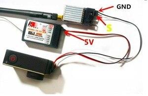 Image 5 - Clownfish dla Gopro Hero 3 3 + 4 akcesoria do kamer w ruchu FPV Mini USB wideo w czasie rzeczywistym kabel wyjściowy Gopro kabel av, TL68A00 Tarot