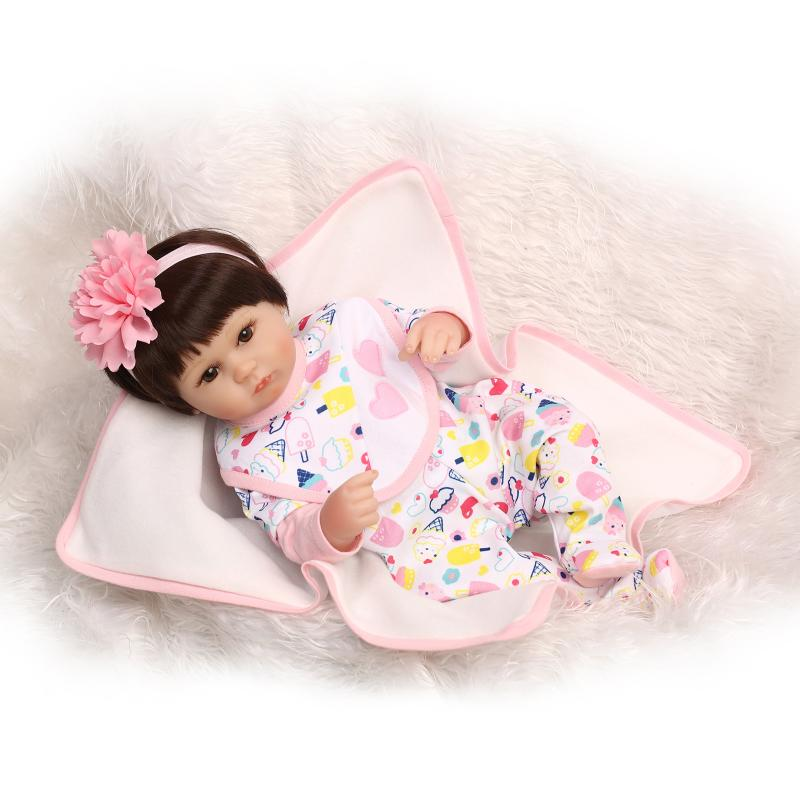 42cm Silicone Reborn Baby Doll kids Playmate Gift For Girls 16 Inch Baby Alive Soft Toys For Bebe Reborn Brinquedo42cm Silicone Reborn Baby Doll kids Playmate Gift For Girls 16 Inch Baby Alive Soft Toys For Bebe Reborn Brinquedo