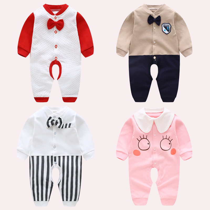 Faithful Baby Rompers Winter Baby Boy Girls Clothes Cotton Newborn Toddler Clothes Infant Jumpsuits New Born Warm Clothing One Piece Bodysuits & One-pieces