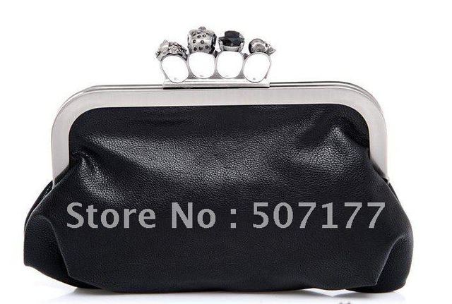 new arrival, high quality fashion designer unque frame ring ladies handbag, clutches