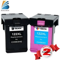 2PK Ink Cartridge For HP 122xl For HP Deskjet 1000 1050 2000 2050 Printer