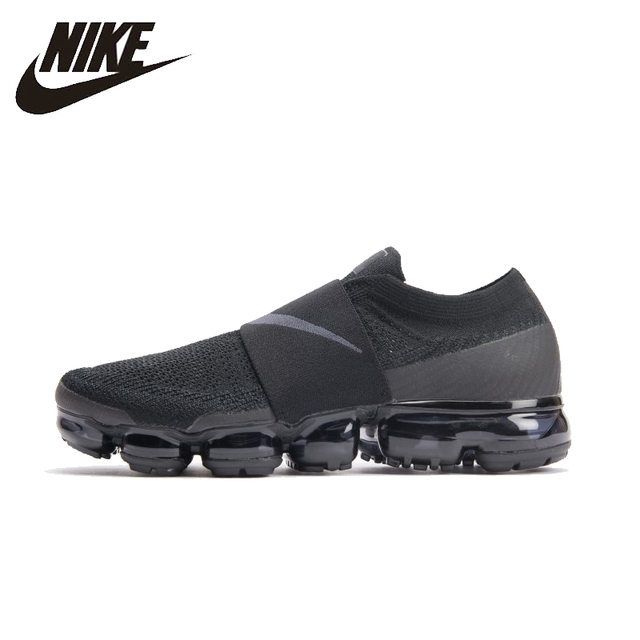 Nike Air vapormax Moc оригинальный Для мужчин S Кроссовки сетки воздухопроницаемая комфортная обувь Легкий Спортивная обувь для Мужская обувь # AH3397-004