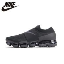 Купить с кэшбэком NIKE Air VaporMax Moc Original Mens Running Shoes Mesh Breathable Comfortable Lightweight Sneakers For Men Shoes#AH3397-004