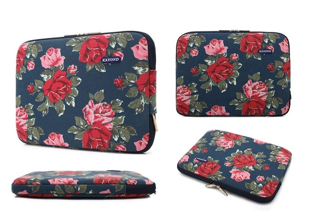 Casual Canvas Sleeve Case for Laptop