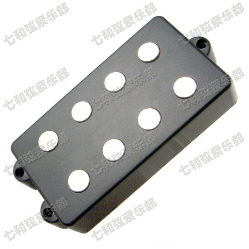 Black 4 String Bass Humbucker Double Coil Pickup for Bass Guitar electric guitar pickup humbucker for 6 string 6 pieces double coil pickups set neck bridge pickup humbucker double coil