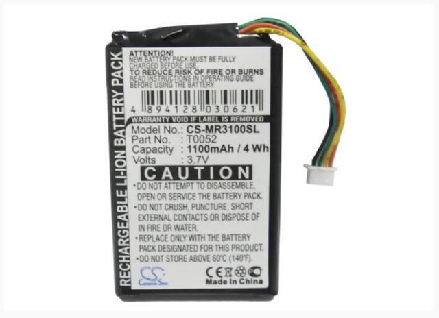 Cameron Sino 1100 mAh batterie pour MAGELLAN Maestro 3000 3200 3210 3220 3225 3250 1200 (4 fils) 1210 (4 fils) T0052