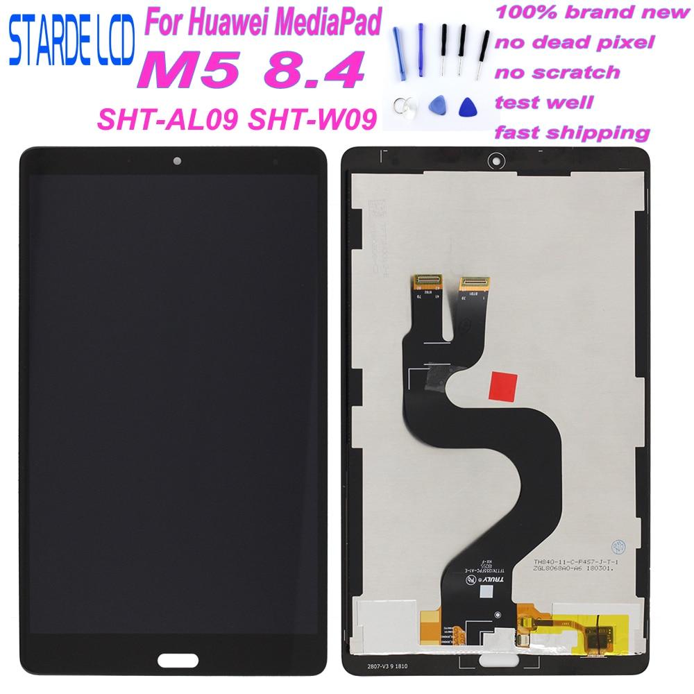 Starde LCD 8.4 For Huawei MediaPad M5 8.4 LCD Display SHT-AL09 SHT-W09 Matrix Touch Screen Digitizer Tablet PC Panel Sensor Gla