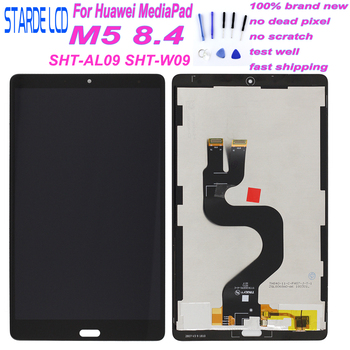 Starde LCD 8.4 For Huawei MediaPad M5 8.4 LCD Display SHT-AL09 SHT-W09 Matrix Touch Screen Digitizer Tablet PC Panel Sensor Gla 8 inch for huawei mediapad t1 8 0 s8 701u lcd display touch screen digitizer sensor full assembly tablet pc replacement parts