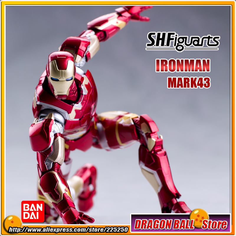 Marvel The Avengers 2 Age of Ultron Original BANDAI Tamashii Nations SHF/ S.H.Figuarts Action Figure - Iron Man MK43 / Mark 43 singer supera 5523 швейная машина