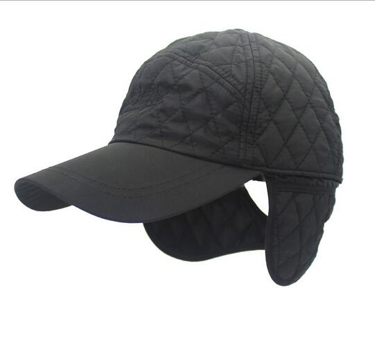4acc552b6 New warm Winter Baseball Cap Men mountaineering Snapback Baseball CAP Man  Winter hats ear flaps Ootdoor sports hats
