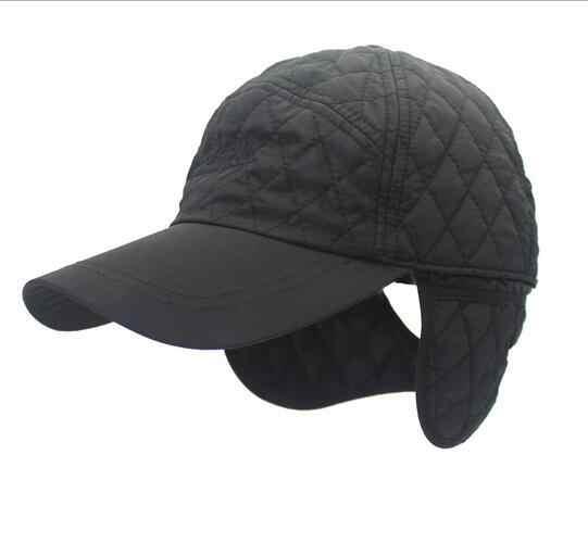 New warm Winter Baseball Cap Men mountaineering Snapback Baseball CAP Man Winter  hats ear flaps Ootdoor 9abc5f2e798