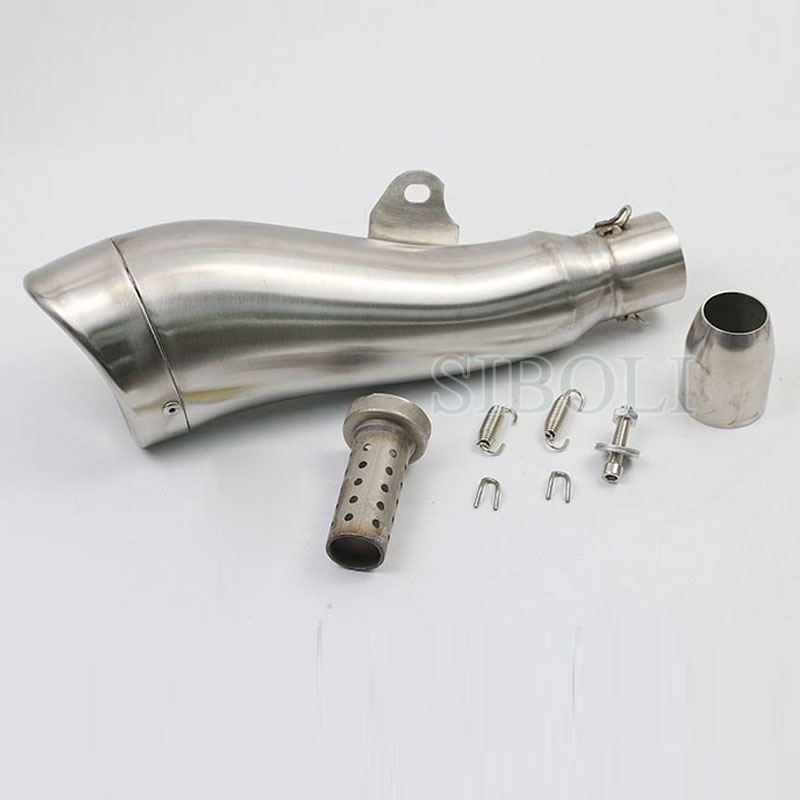 38-51MM Universal Motorcycle Exhaust Muffler GP Escape Pipe Street Dirt Bike For 125cc-1000cc Sport Racing Motorbike AK076
