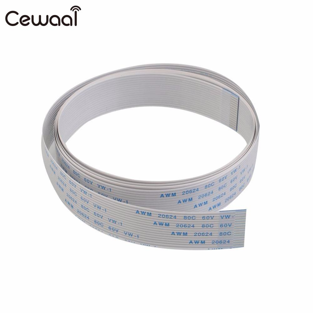 Cewaal CSI Flat Ribbon FFC Cable Line Wire Cord For the Raspberry Pi Camera 200cm/100cm/50cm/30cm/15cm ...