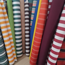 0.5m Thickened Oxford Fabric, Sun-resistant, Color-striped Awning, Sunshade, Rain Cover, Telescopic Waterproof Fabric