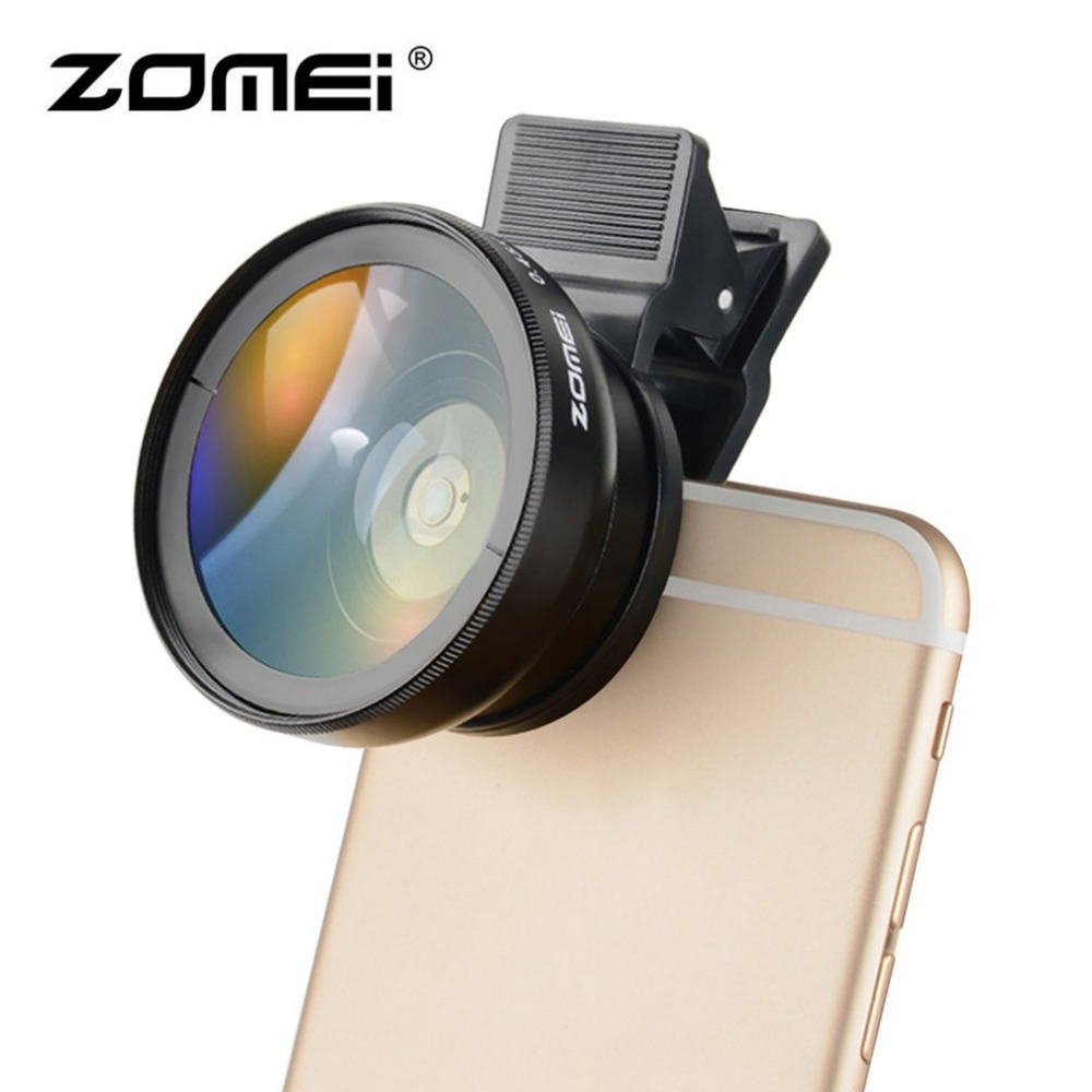 ZOMEI Professional 0.6X 0.45X Wide Angle + Macro Lens Filter 2 In 1 - Camera and Photo