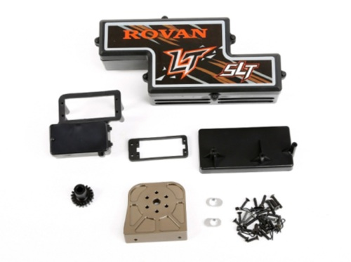 Gas Motor change to Eletric Brushless Conversion Without Power for Losi 5ive T ROVAN LT KING MOTOR X2 RC CAR PARTS king motor x2 wheels set of 2 fits losi 5ive t and rovan lt 4wd truck