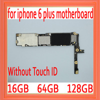 16gb / 64gb / 128gb Original unlocked for iphone 6 plus Motherboard without Touch ID,for iphone 6Plus Mainboard