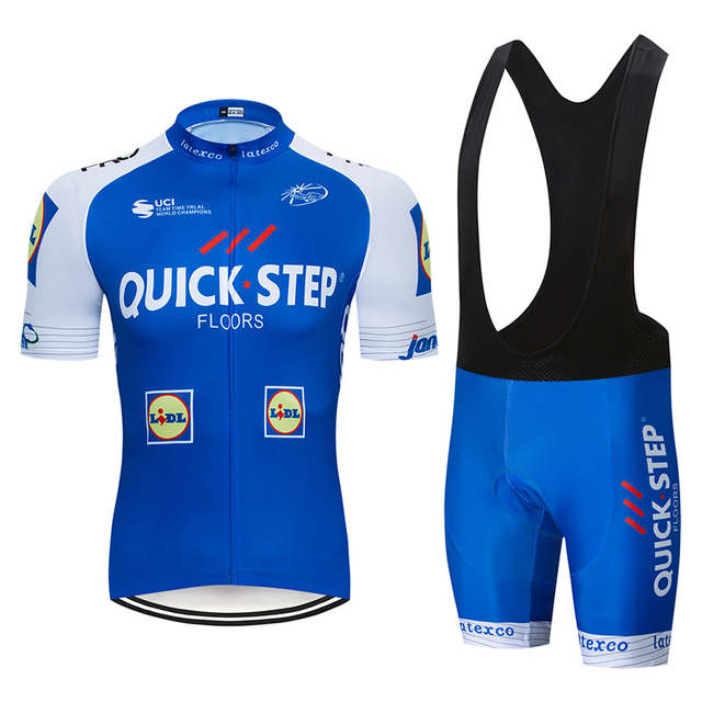 US $20 0 31% OFF 2019 Quick Step Champion Cycling Jersey Summer dh Pro  Racing COMP UCI tour Porto 9D gel fh Bike Ciclismo clothing manufact-in  Cycling