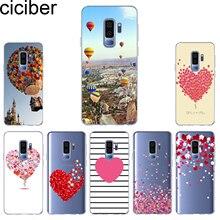 ciciber Phone Case for Samsung Galaxy S10 S10+ S10e Lite Soft TPU Back Cover S9 S8 S7 S6 S5 Edge Plus Mini Funda