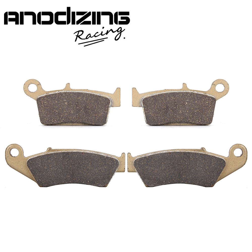 Motorcycle Front and Rear Brake Pads for Suzuki DRZ400 2000-009 RM125 RM250 1996-2006 RMX250 1999-2000