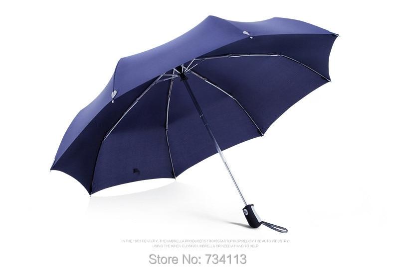 Большой зонт полуавтоматический водонепроницаемый Зонт raingear высокого качества