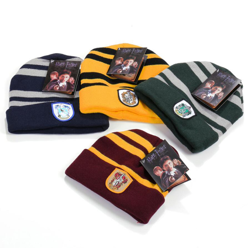 New Harri Potter Gryffindor Cap/Hat Dobby's hat Soft Warm Costume Halloween Gift Christmas gift Anime Cosplay toys