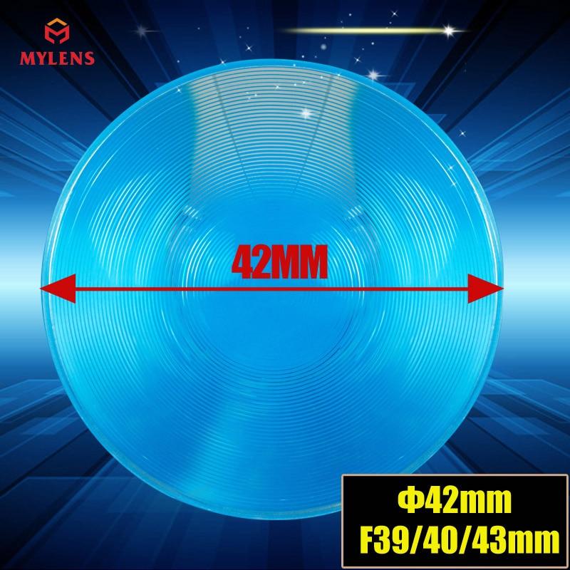 42 мм Диаметр круглая ПММА пластиковая Фреска конденсирующая линза фокусное расстояние 40 мм для VR box 3 Dglass плоский увеличитель концентратор солнечной энергии