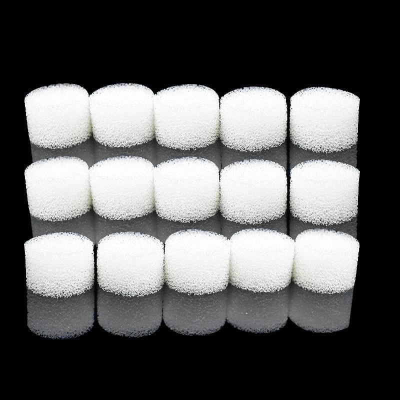 15Pcs Nebulizer Filter Sponge Filter Cotton Suit for Inhaler Air Compressor Nebulizer Cup Filters Catheter Atomizer Accessories