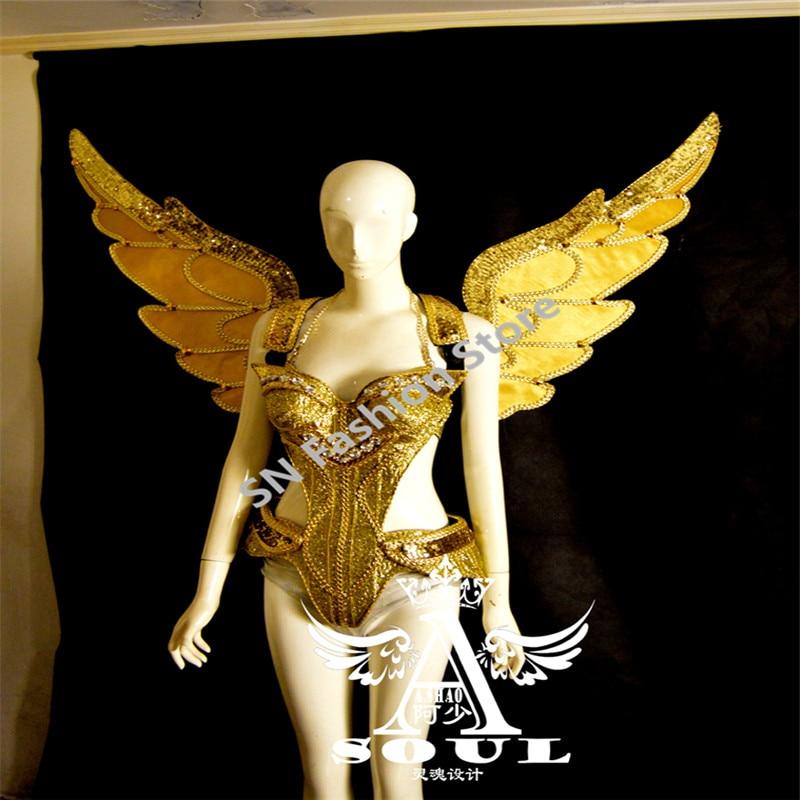 ES005 Zrcalo pjevačica plesna haljina žene dvoranske kostime - Za blagdane i zabave
