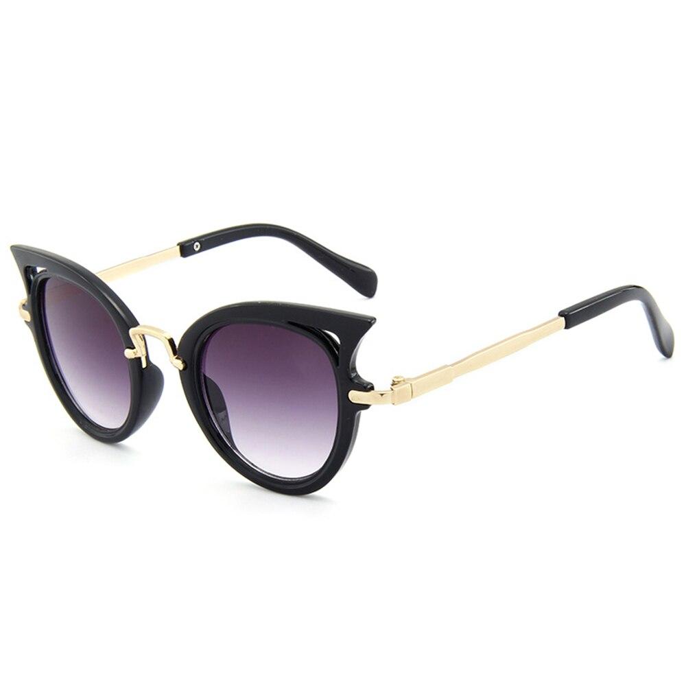 2017 New Kids Sunglasses Girls Brand Cat Eye Children Glasses Boys UV400 Lens Baby Sun glasses