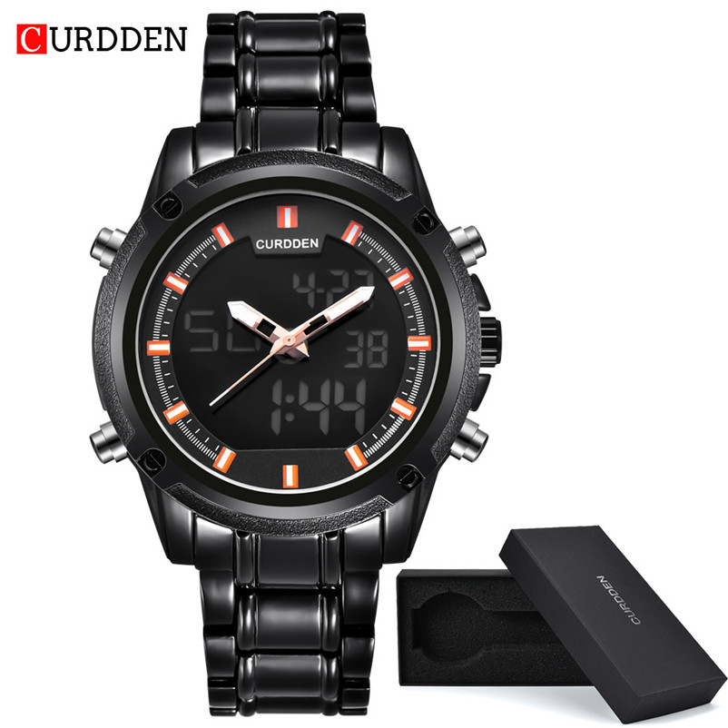 1a4e6fcac82 New Brand Mens Watches Top Brand Luxury Stainless Steel Wristwatch Mens  Gift Quartz Watch Discount Relogio