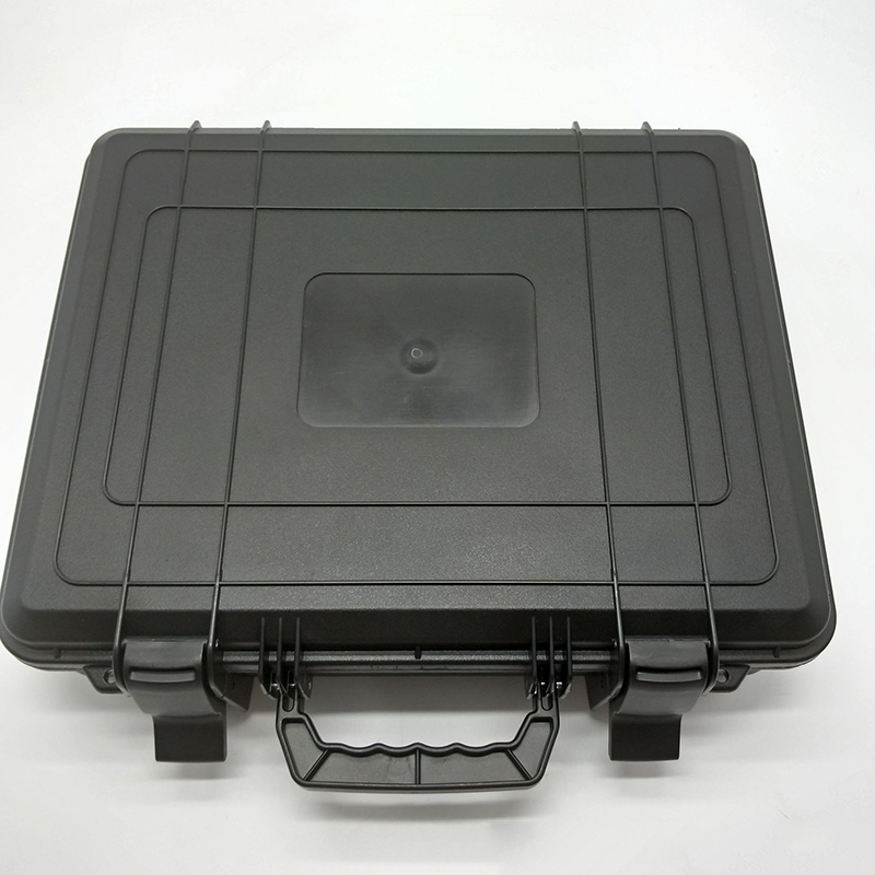 Size 380*300*105mm SQ301 Plastic Tool Case Tool Box For Equipment Light Weight Easy To Carry