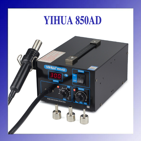 HOT YIHUA 850AD 550w 110v/220v  SMD Hot-Air Electronic Cell Phone Soldering Station Air Pump hot