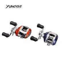 YUMOSHI Baitcasting Reel – NEW Right or Left Baitcasting Reel 12+1BB 6.3:1 Bait Casting Fishing Reel Magnetic brake