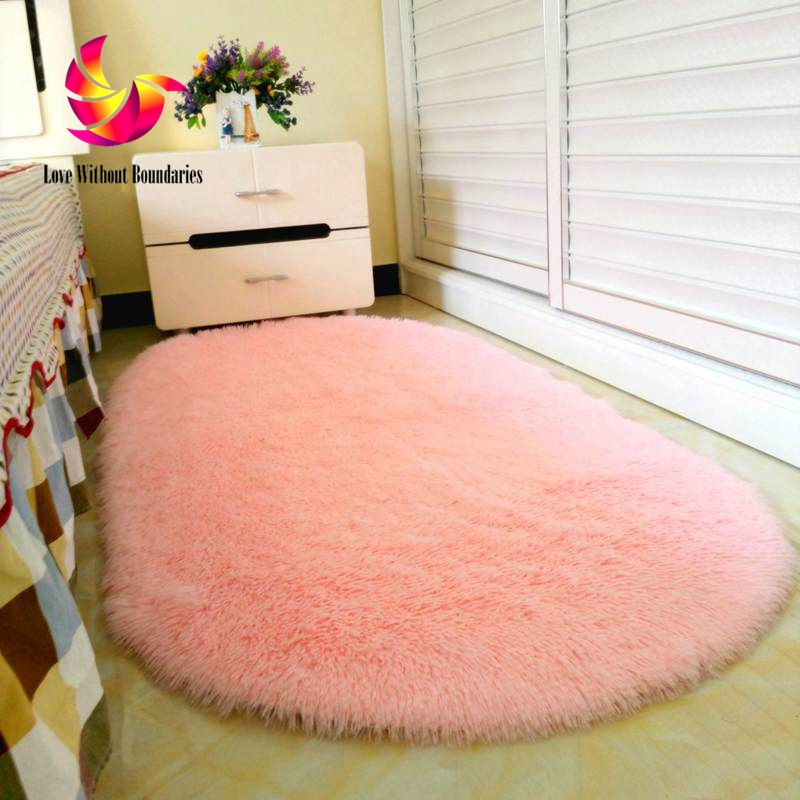 Long Hair Carpet Warm and sweet bedroom carpet for living room, parlor, hallway soft Carpet , romance soft rug