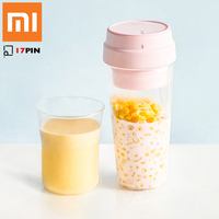 Xiaomi 17PIN Portable Electric Juicer Cup 400ml Rechargeable Vegetables Fruit Juice Maker Blender Mixer for Smart Remote Control