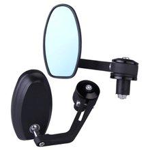 """AUTO 7/8 """"22mm Universal de La Motocicleta vehículo eléctrico anti-reflejo espejo espejo lateral Retrovisor Espejo"""
