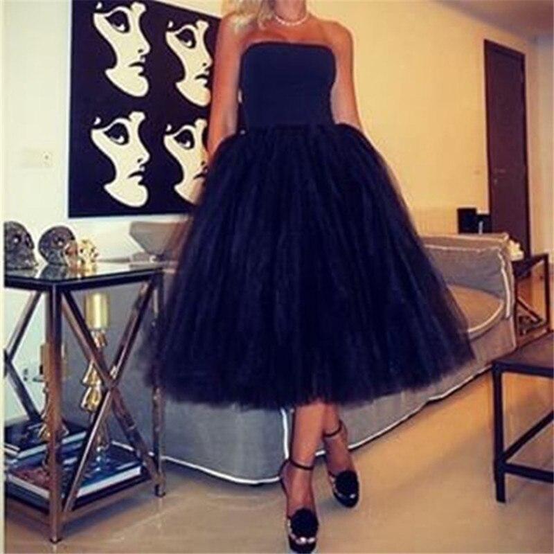 Baratos Vestidos de Noche Largos Femme Longue Robe Soiree 2017 Negro Sin Tirante