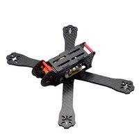 HSKRC AL220 220mm Wheelbase 4mm Arm 3K Carbon Fiber Racing Drone Frame Kit w/ 5V 12V PDB for RC Drone Quadcopter FPV Racing