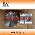 Подходит для вилочного погрузчика Komatsu 4D94LE YM129901-22080 поршня и поршневого кольца