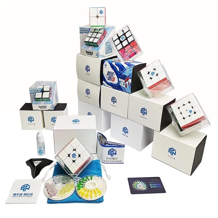 GAN 356X3x3 Magic Speed Cube Gan356 X 3x3x3 Magico Cube GAN356X professionnel vente chaude GAN 356X - 6