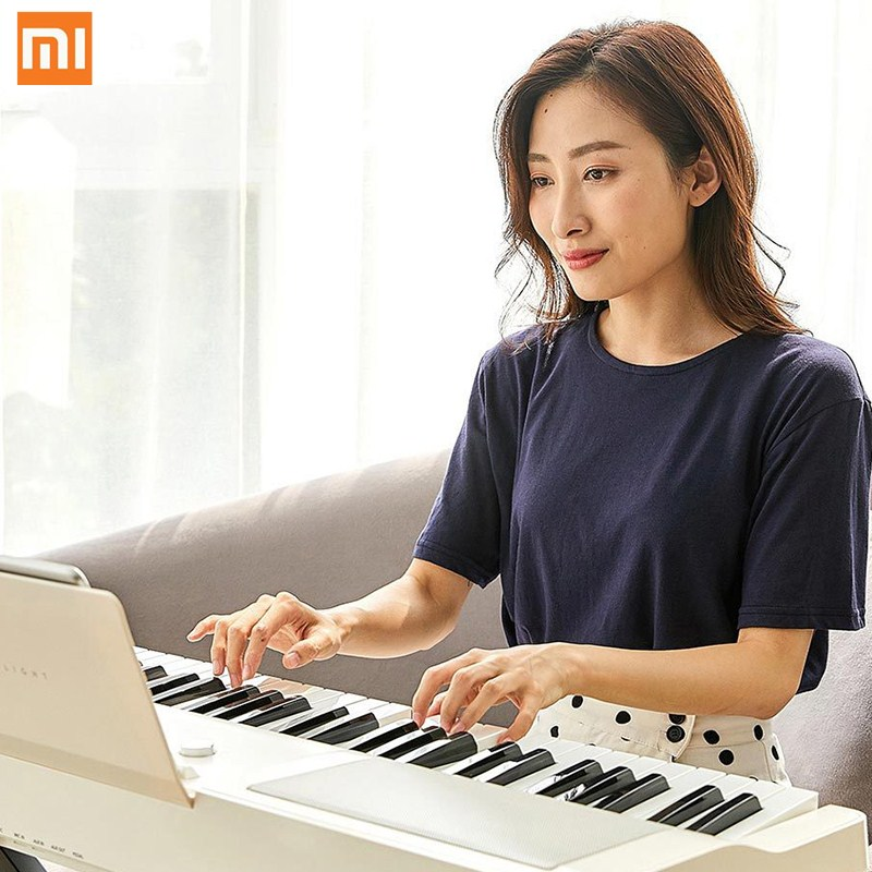 <font><b>Xiaomi</b></font> <font><b>Youpin</b></font> TheONE TOK1 Keyboard Piano Smart Electronic Organ Beginner Music Instrument Smart APP Playing Education GrandPiano image