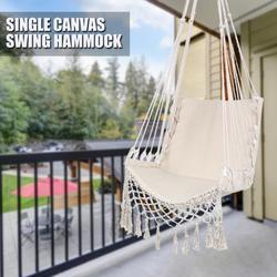 Hamaca exterior Interior jardín dormitorio silla colgante para niño adulto oscilante Silla de seguridad individual