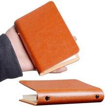 Мини-карман из искусственной кожи, застежка для блокнота блокнот с ручкой, слот, пустой блокнот для путешествий, блокнот для заметок, повседневные школьные офисные принадлежности