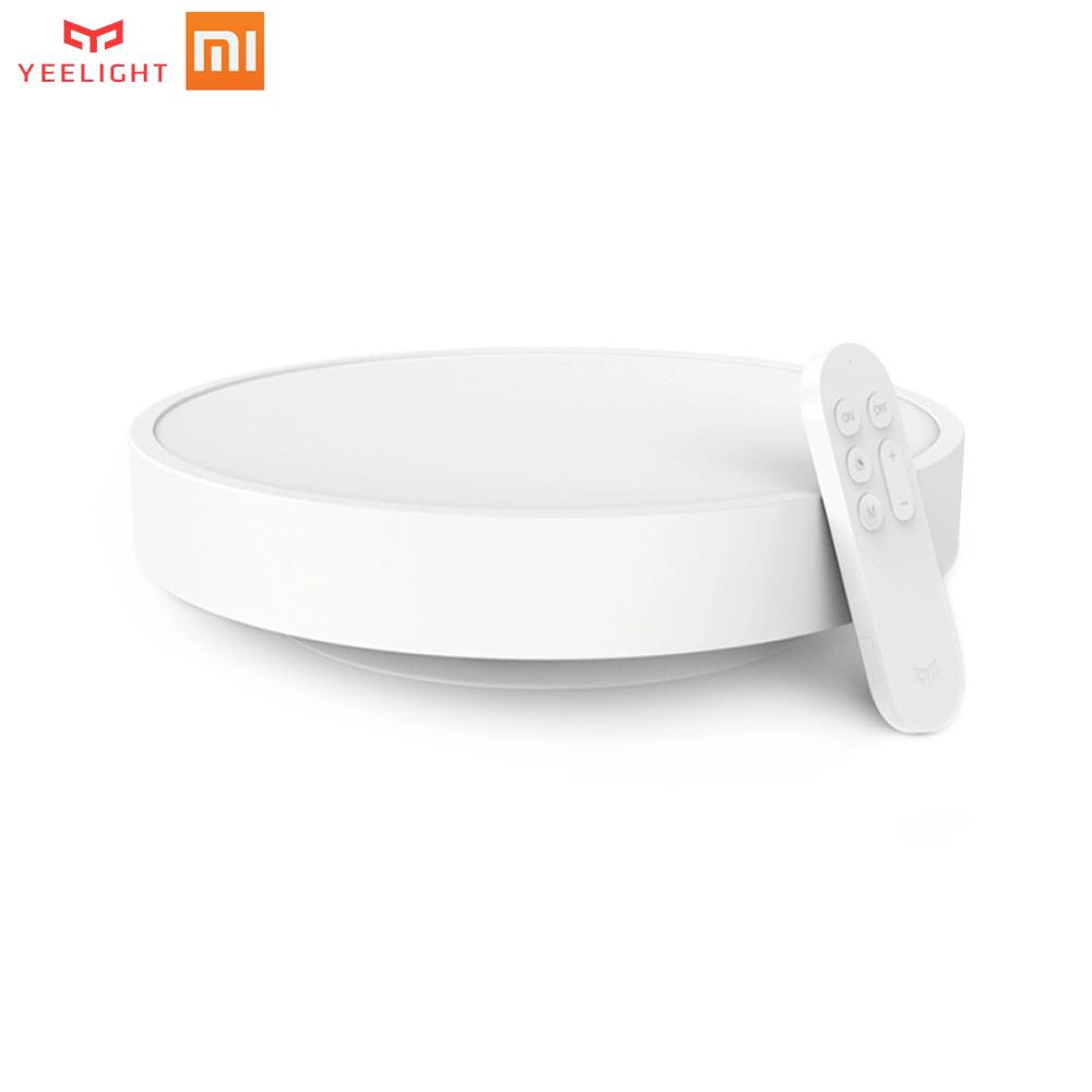 Original Xiaomi Yeelight Smart APP Remote Control LED Ceiling Lamp Bed Room Lights Cell Phone Mijia Or Bluetooth ControlOriginal Xiaomi Yeelight Smart APP Remote Control LED Ceiling Lamp Bed Room Lights Cell Phone Mijia Or Bluetooth Control